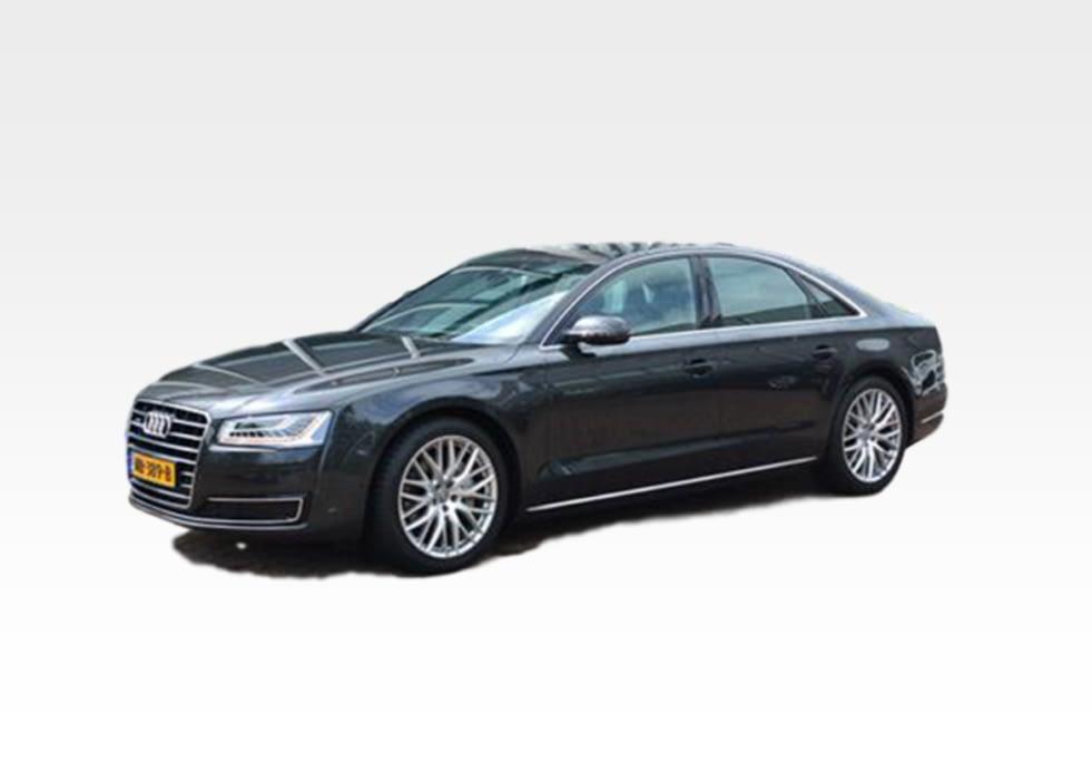 HaarsGroep wagenpark Audi A8