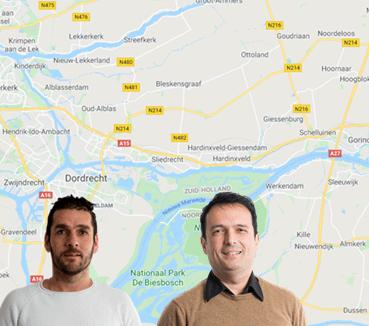 HaarsGroep Regiomanagers Drechtsteden en BAR Reindedr van de Velde en Robertino Lotto